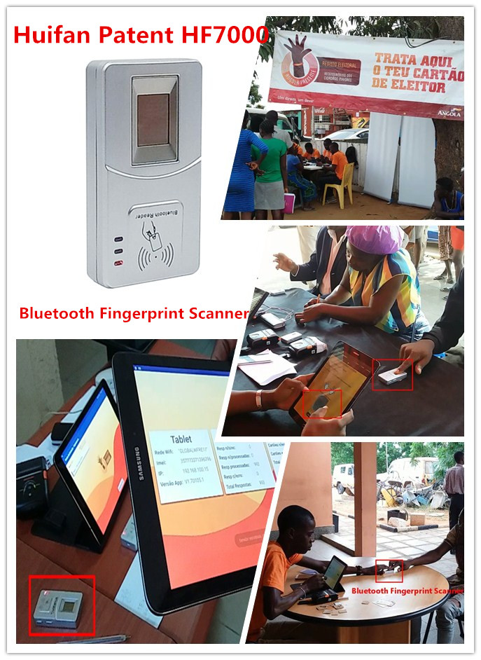 HF-F2 HFsecurity Biometric access control system with ZKteco software
