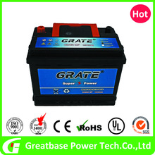 Europe marketing 12v 62ah MF car battery, Vehicle Lead Acid battery