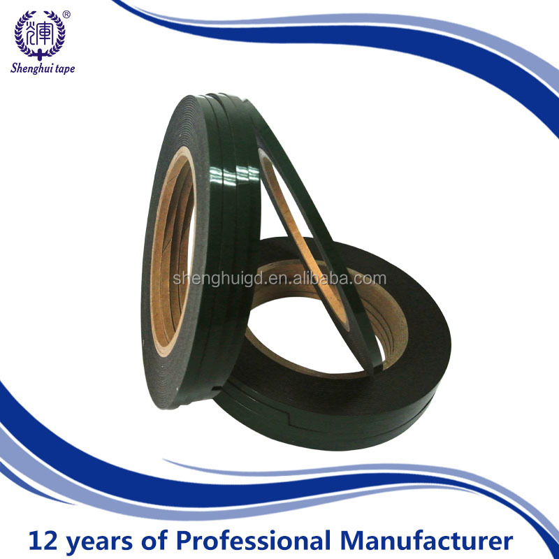 ( Manufacturer)with plastic bag pack Automobile high sticky heat resistant double sided EVA / PE foam tape