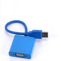 USB 3.0 to VGA Video Graphic Card Display External Cable Adapter for Windows 7/8