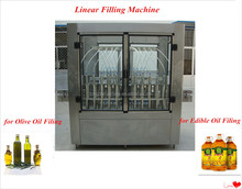 automatic cooking oil filling machine/oil bottling line