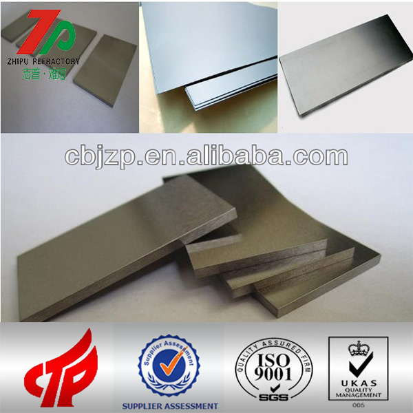 99.95% pure refractory metal 2mm wolfram plate for sale