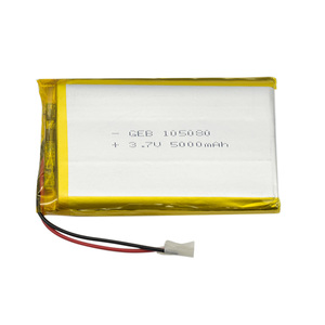 Hot sale 105080 rechargeable li-ion battery 3.7v 5000mah lipo battery for cell phone battery