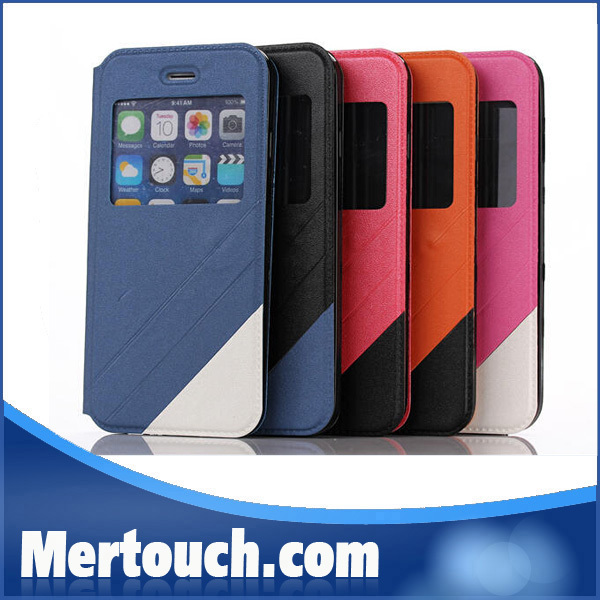 New 2 colors assorted phone case for iphone 6 , for iphone 6 contrast color phone case