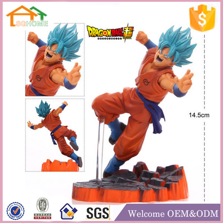 Factory Custom made best gift action figure eco-friendly fashion vinyl dragon ball figure toys