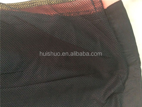 Custom running shorts cheap mesh mens elastic waist sports short pants