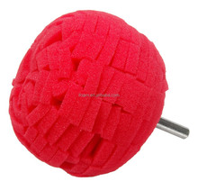 100mm Red Sponge Car Wheel Foam Polishing Ball