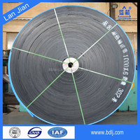ISO certified industial rubber EP / CC / NN conveyor belt price from china manufacturer