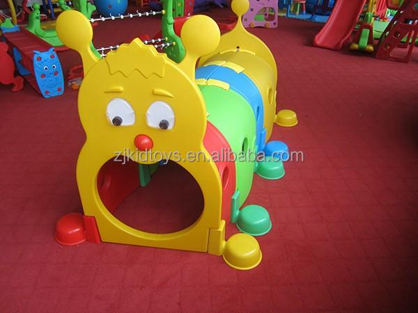 Kinder kunststoff raupe tunnel spielzeug kind