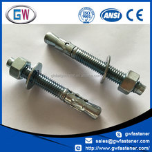 Zinc Plated OEM Customized Anchor Bolt m48