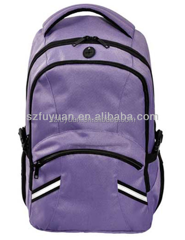 reflective backpack with earphone outlet, safety harness backpack