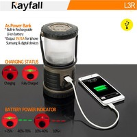 strong enviromental flexible led solar camping lantern