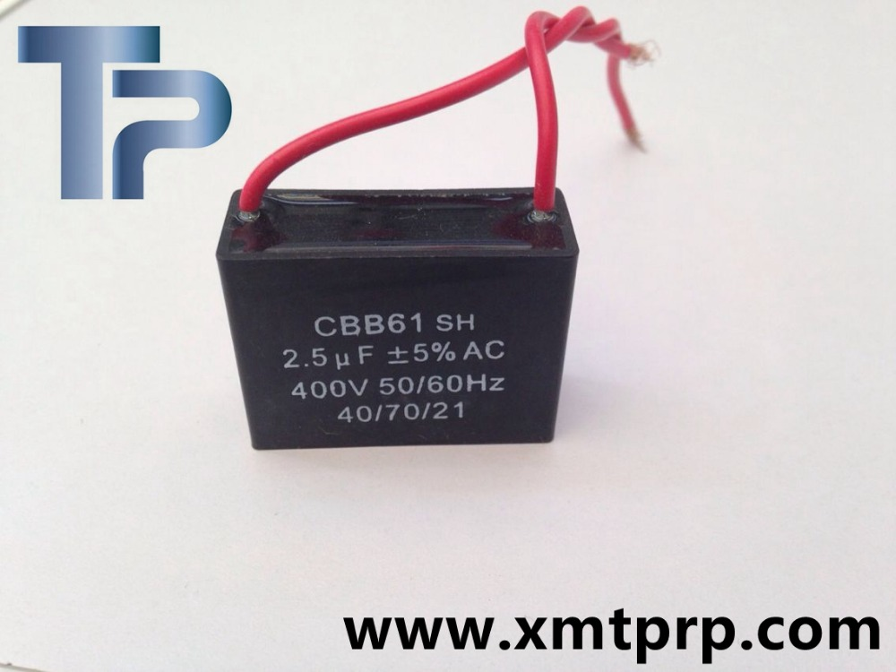 Trump through hole pp film cbb61 capacitor