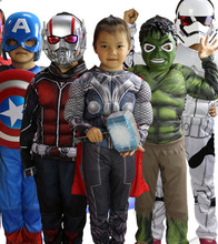 The avengers alliance suit for baby halloween costume fancy dress clothing