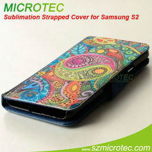 wallet leather case for samsung galaxy s2 i9100