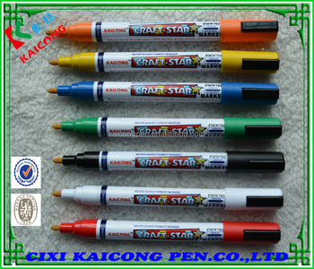 iPOSCA water-based ink marker,valve-action/colorful/wet-erase paint marker