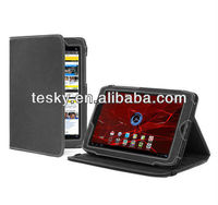 Stand Flip Leather PU Case For Motorola Xoom 2 8.2inch Tablet PC