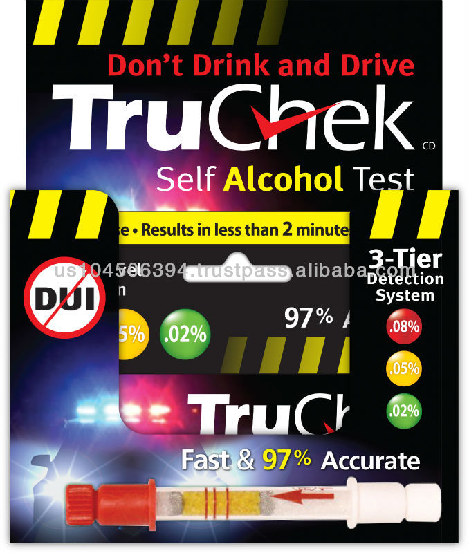 TruChek Self Alcohol Test