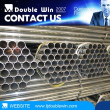 Steel pipe with galvanized construction building metal building materials construction materials price list