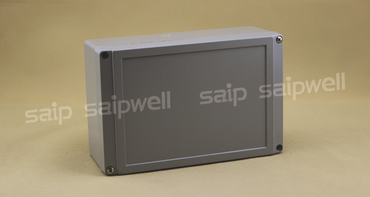 SAIP aluminium enclosure, aluminium box for electronic SP-AG-FA12	200*130*80 (mm)