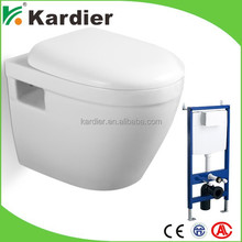Latest design toilet prices power flush toilet, wall hung toilet supports