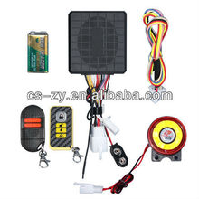 2013 alarm system motorcycle with host horn remote are all waterproof