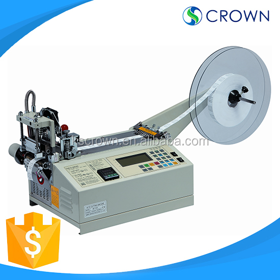 PVC Automatic Labeling Shrink Sleeve Cutting Machine