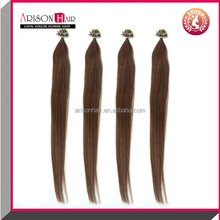 Fashion 6A Grade Remy Italian Double Drawn U Tip Hair Extension