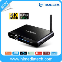 brazil and chile cheap iptv set top box android 4.4 RK3368 support 4K and H.265 quad core