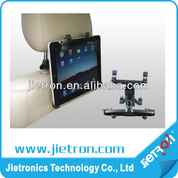 Car Back Seat Headrest Mount Holder for iPad 1/2/3/4 Galaxy Tab & Tablet PC (JT-2900854)