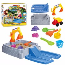 Kids Outdoor Sand Table Digger Model Toy Set