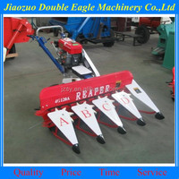 mini wheat rice soybean combine harvester / hot pepper harvesting machine