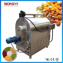 automatic sunflower seeds groundnut cacao frying/roasting machine for sale