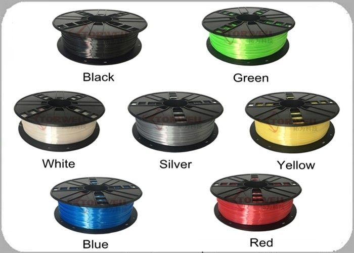 Colorful 1.75 & 3mm BioSilk filament 3D printer 1kg/spool