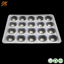 Food Grade Thermoformed Blister PP Plastic Rice Dumpling Trays with Dividers