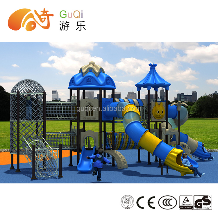 Sliding board For kids Public places used commercial playground equipment sale