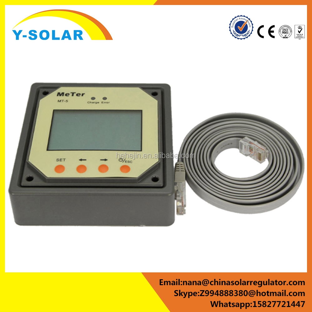 Y-SOLAR frequency remote for electric meter Tracer MPPT solar chargge controller Meter-5