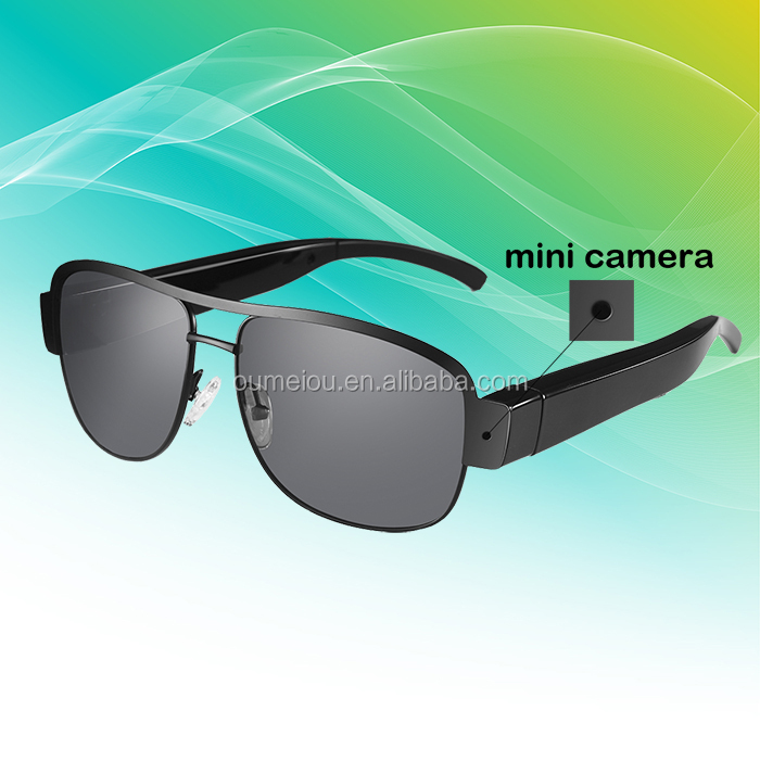 New Technology Small Hidden Camera Sunglasses Dvr With Build-in 8gb Sd/tf Card For Driver(professional Manufacturer)