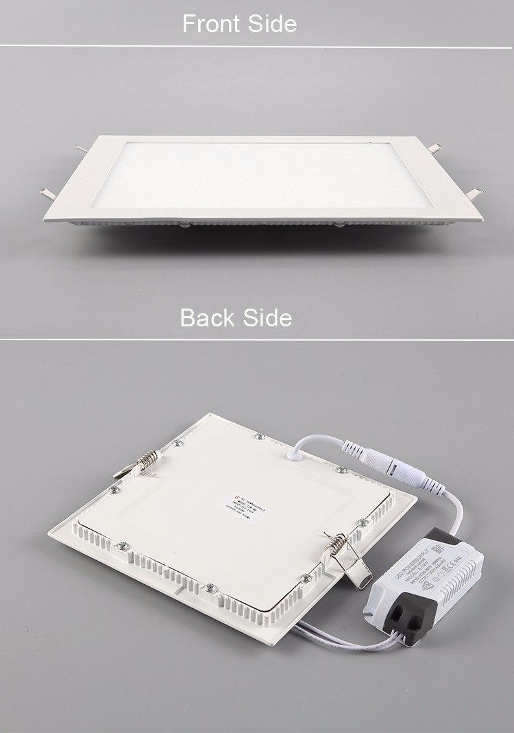 Langde zhongshan manufacture 2835smd chip 3w to 24w flat panel led lighting for hotel hospital