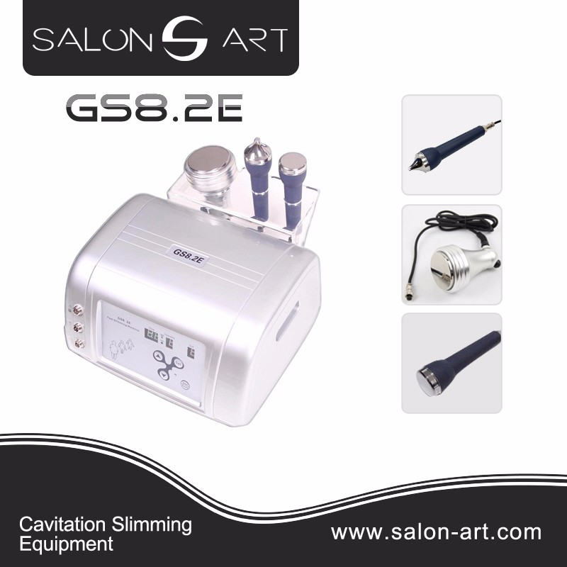 GS8.2E Beauty ultrasound 40k cavitation head professional slimming machine