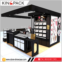 Glossly fantastics display kiss beauty furniture cosmetic retail shop interior design