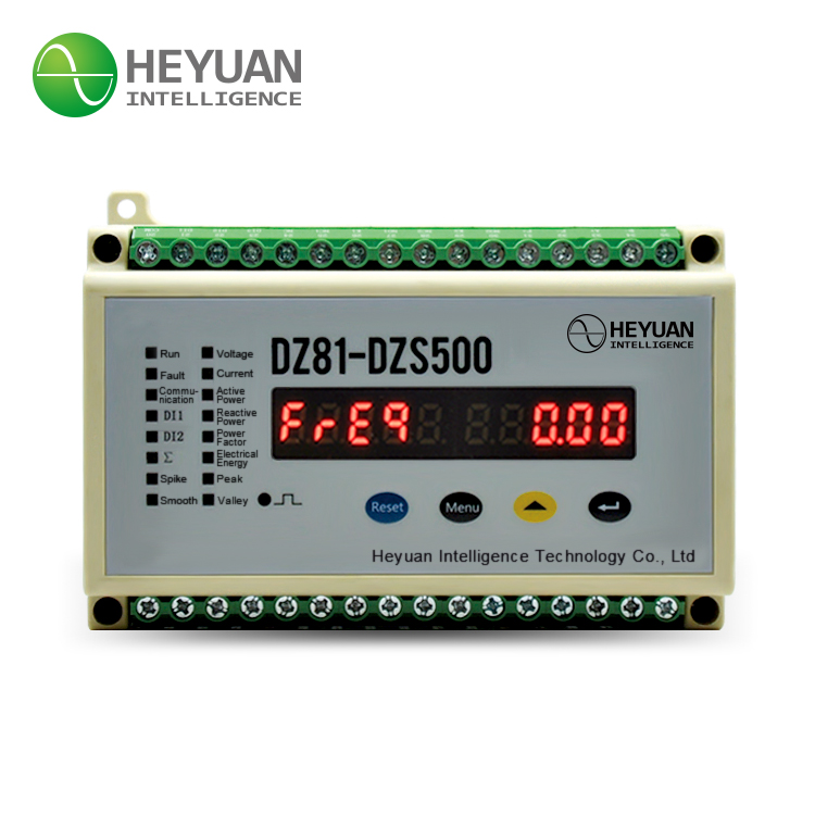 Heyuan DZS500 Three Phase 4 Wire Double Tariff Energy Meter with Pulse Output