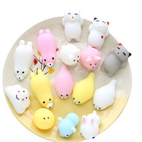 New Design Eco-friendly Stretch Seal Penis Mochi Mini Animal Slow Rising Squishy Toys