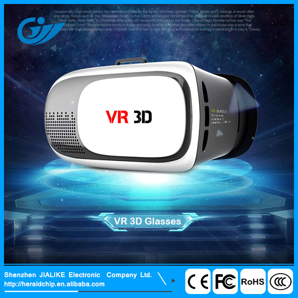 High quality ABS plastic 3D VR phone virtual reality glasses