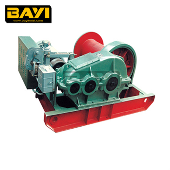 BAYI brand electric cable pull winch for mining industry