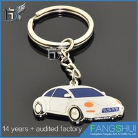 Wholesale fashionable key chain auto metal