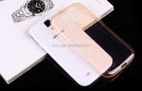 CLEAR case and transparent for samsung case, shock proof silicon case