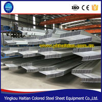 Galvanized purlin Z steel beam Z section steel for prefabricated warehouse /steel building/poutry shed /garage