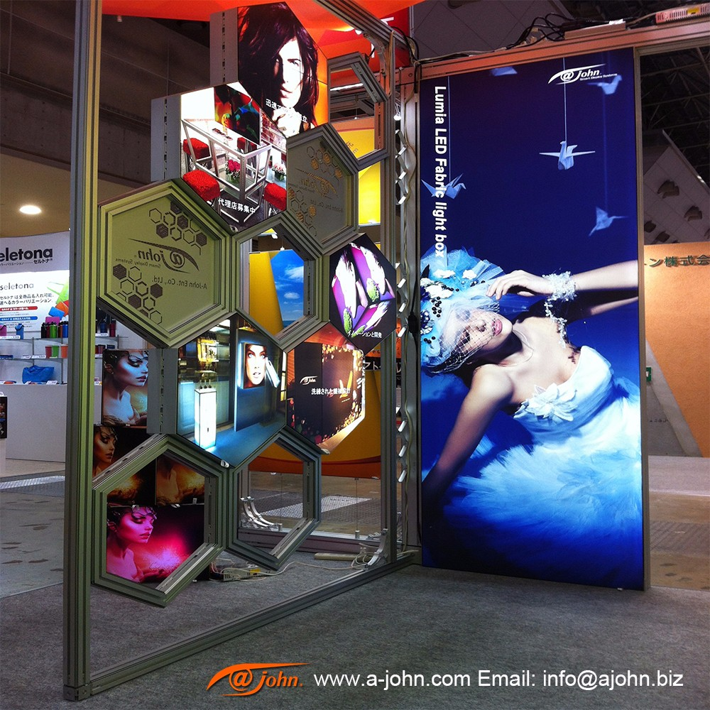 AJOHN modular 6x6 Trade Show Exhibits Display Booth