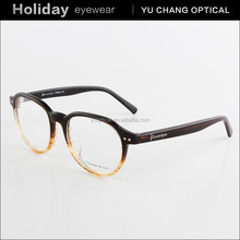 new style acetate round spectacle frame round plastic glasses In High Quality china whole